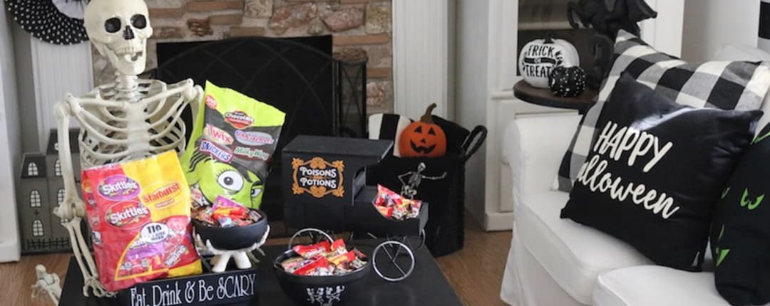 Inside Decoration for Halloween