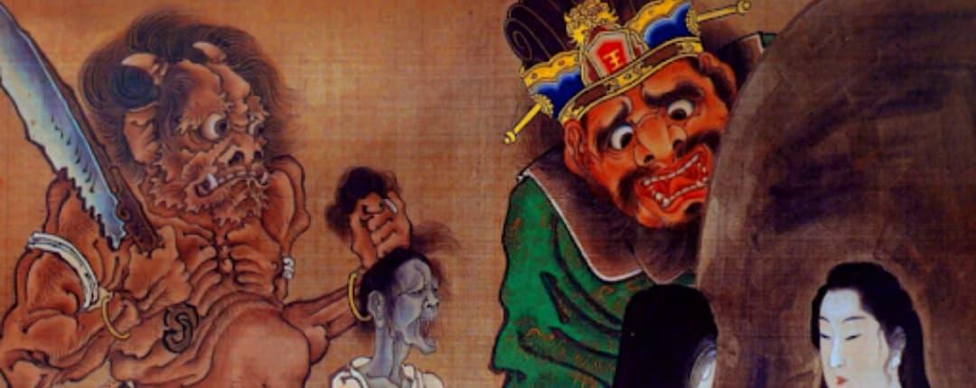 King Yama called in Japan King Enma
