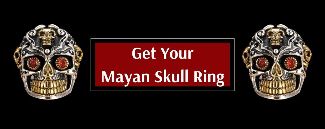 Mayan Spirit Skull Ring Promotion