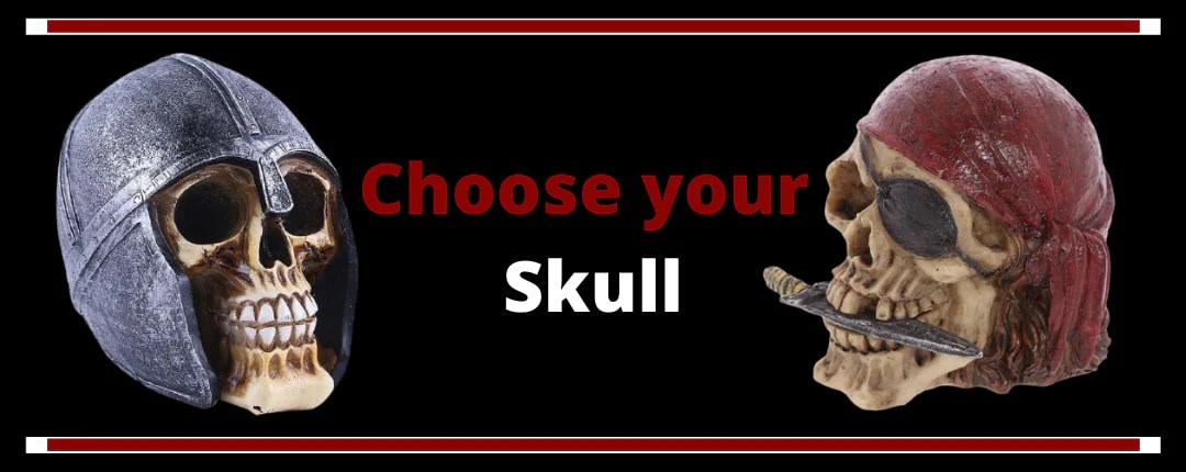 Skull Heads Decoration Offer