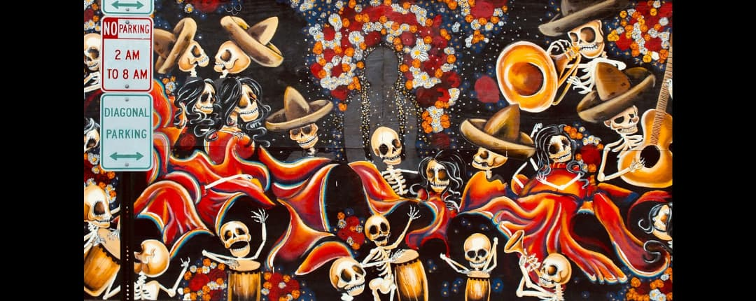 Day of the dead in America