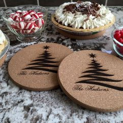 Kitchen Hot Pads Bargain Outlet Cabinets Personalized Large Set Of 2 Qualtry 5 Different Designs