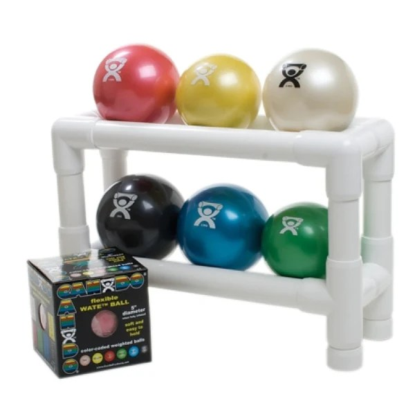 2 tier ball rack