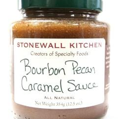 Stonewall Kitchen Dark Chocolate Sea Salt Caramel Sauce Inside Cabinet Organizers Bourbon Pecan