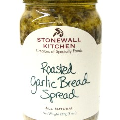 Stonewall Kitchen Jam Fireclay Sink Roasted Garlic Bread Spread ...