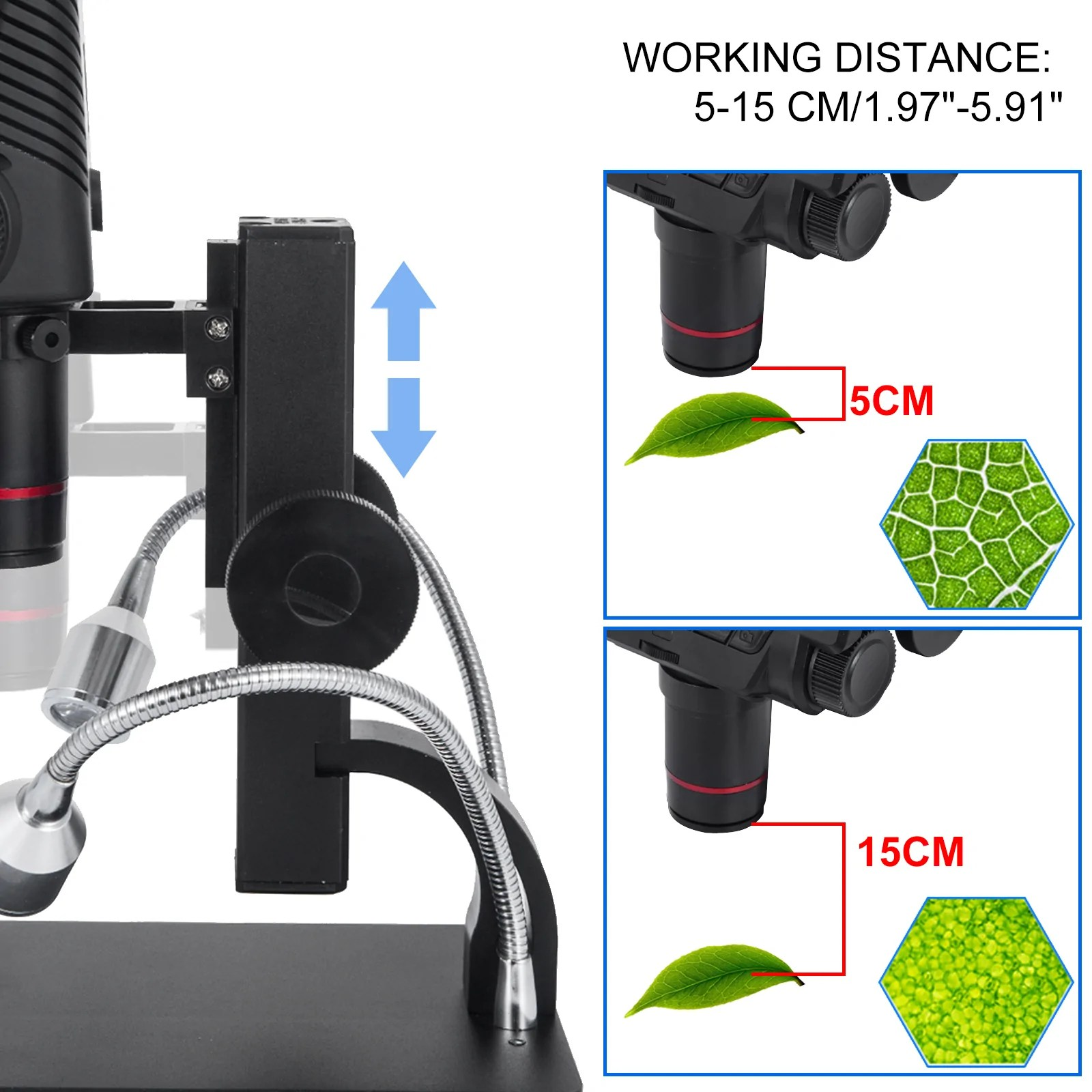 Real time imagery, no lag or latency. Andonstar 5 Inch Screen Hdmi Digital Microscope Usb ...