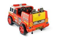 Fire Truck Ride On 2 Seat With Working Hose  Car Tots ...