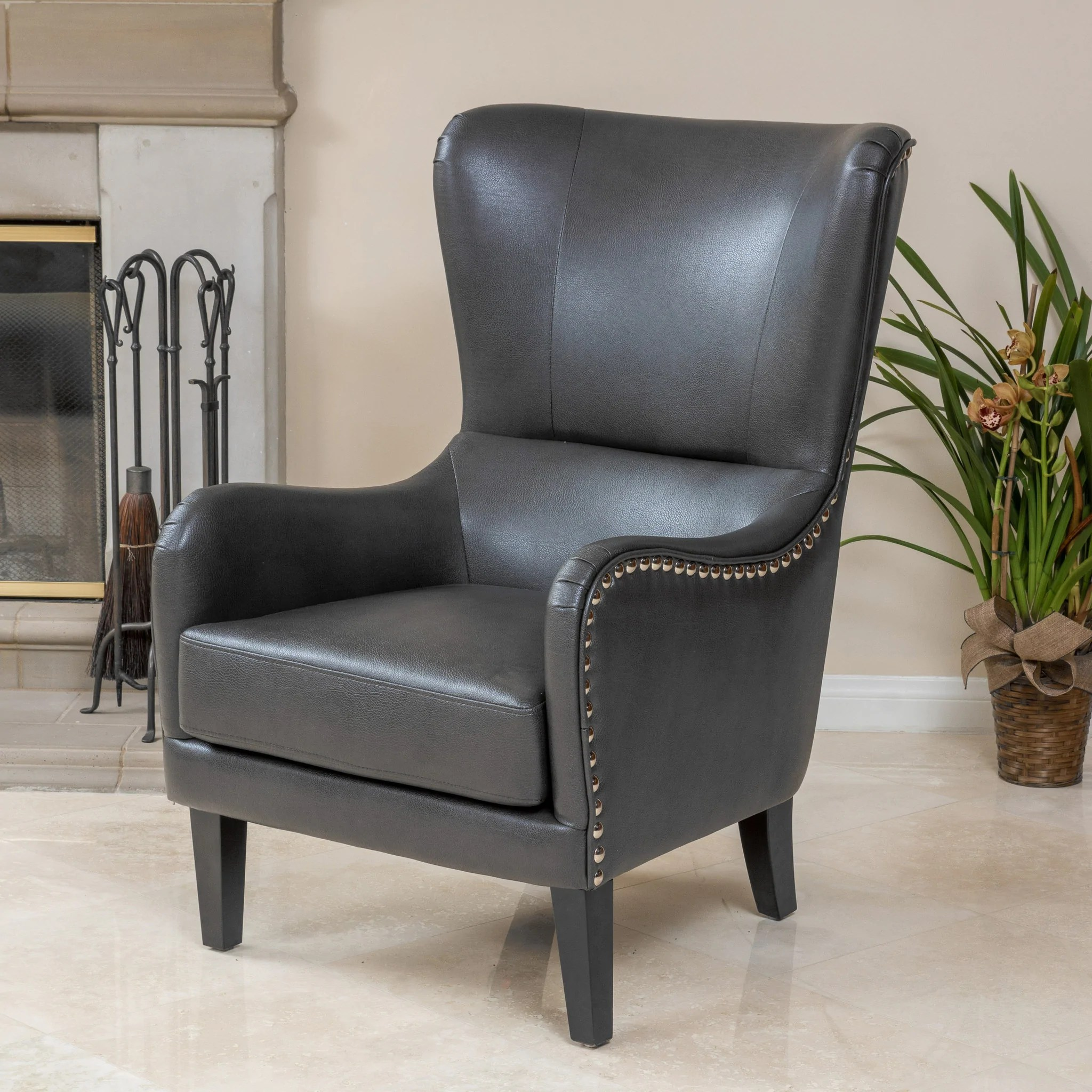 grey club chair velvet medford beige fabric great deal furniture canada