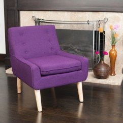 Purple Dining Chairs Canada Childrens Desk And Chair Set Pink Brockston Fabric Retro Accent Great Deal
