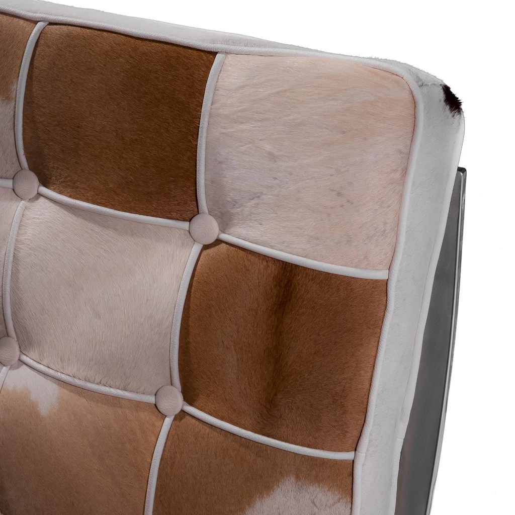 white leather accent chair canada french barrel pavilion brown cowhide and great deal