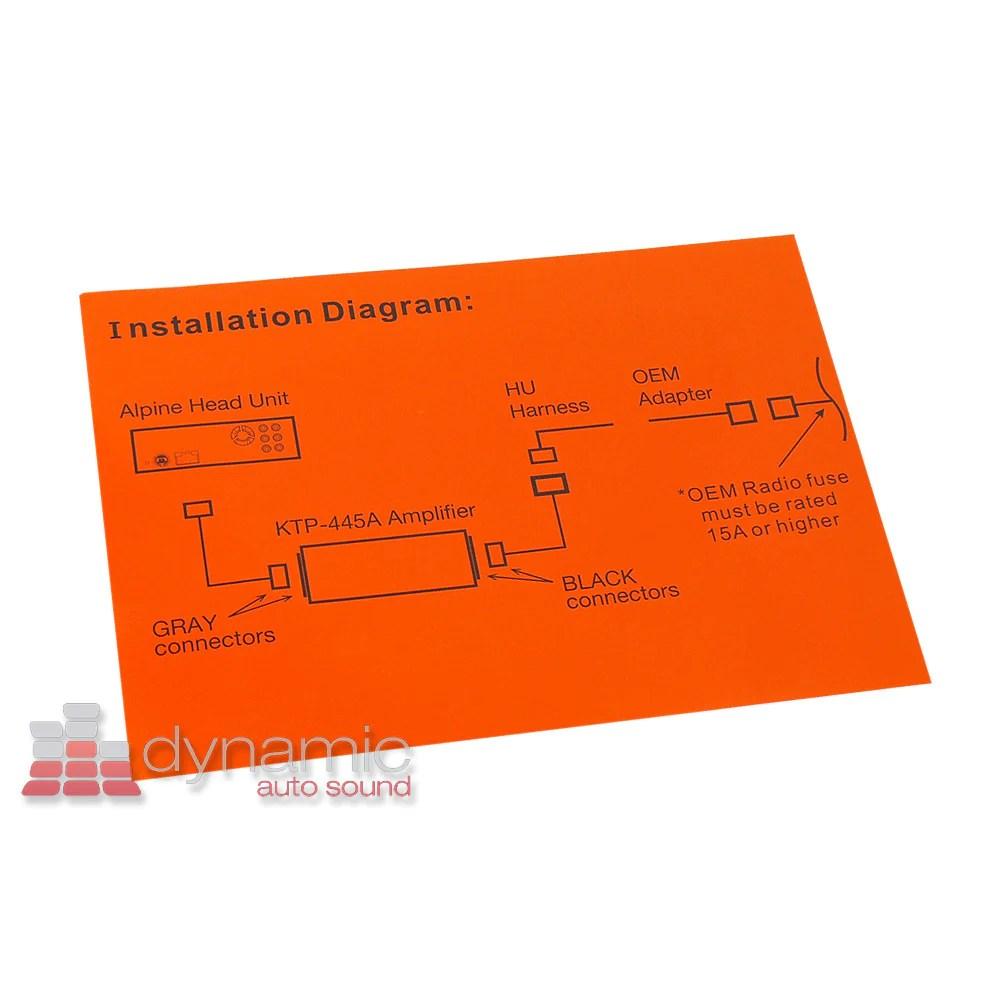 hight resolution of  alpine ktp 445a dynamic autosound on alpine ktp 445 wiring diagram alpine