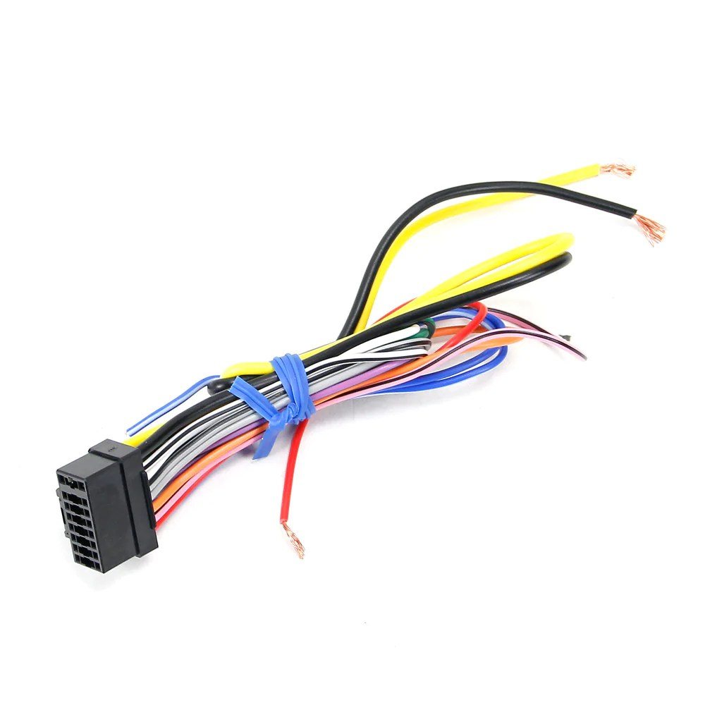 Alpine Wiring Harness 7400 Auto Electrical Diagram Cde 121 Wire For Cd Receiver Car Audio