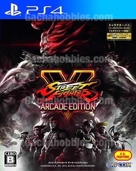 Ps4 Street Fighter V Arcade Edition Ps4 快打旋風5 電玩版 中文版 Pre