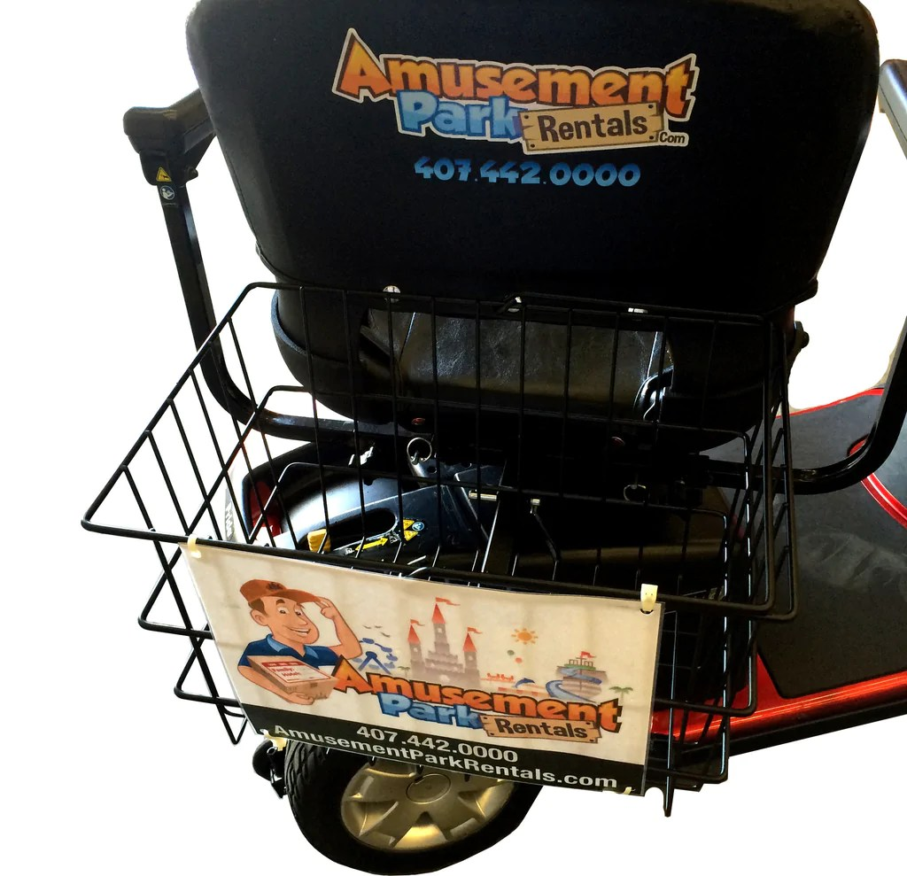 electric wheel chair rental zero gravity with canopy and cup holder orlando scooter rentals stroller amusement