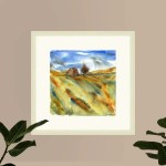 War Horse Farm Dartmoor Framed Or Unframed Art Print Square Sizes Nicole Baker Art
