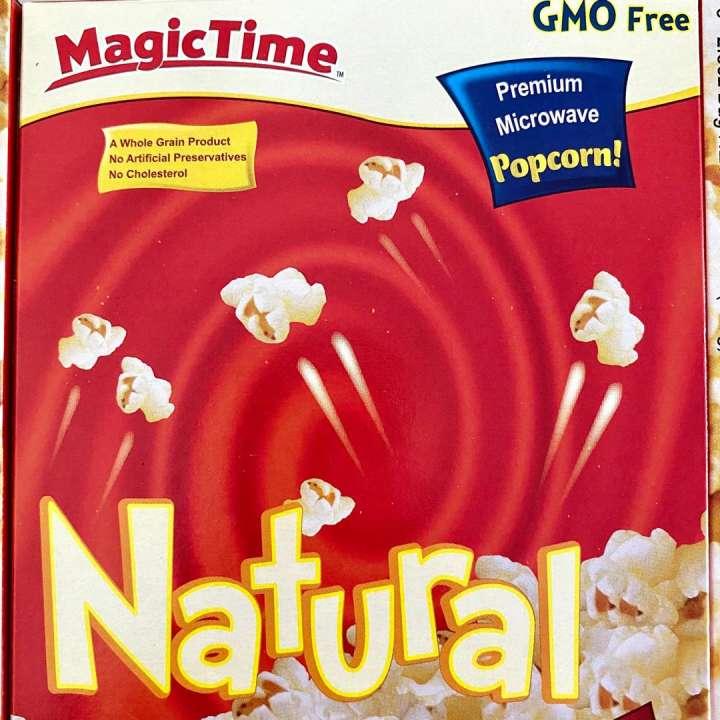 magic time microwave popcorn natural