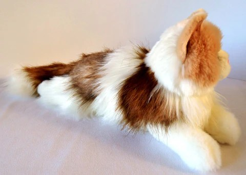 Ragdoll Cat Stuffed Toy For Seniors And For People With