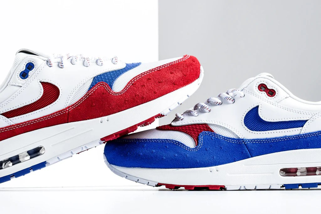 Air Max 1 Premium (WhiteGym Red Racer Blue 14)