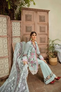 Maryum Hussain Online French Knot Festive Lawn 2020