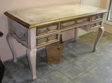 French Country Desk  R Furniture by Olinda Romani Lance