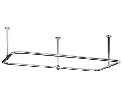 2654 rectangular shower curtain rod