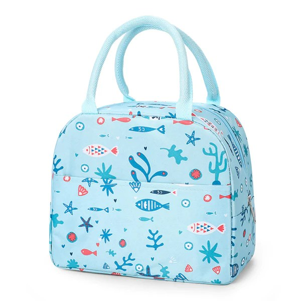 sac lunch box isotherme poisson