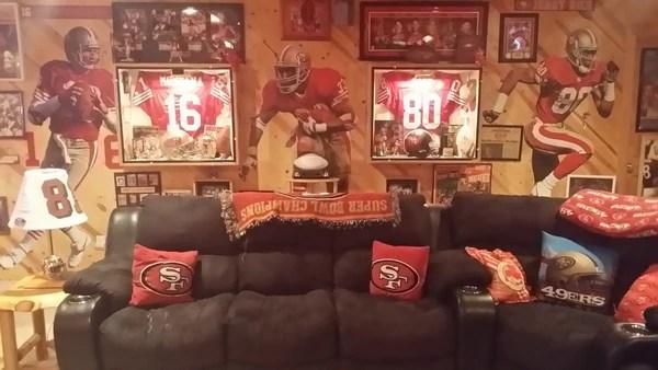 The Best San Francisco 49ers Man Cavein Wisconsin