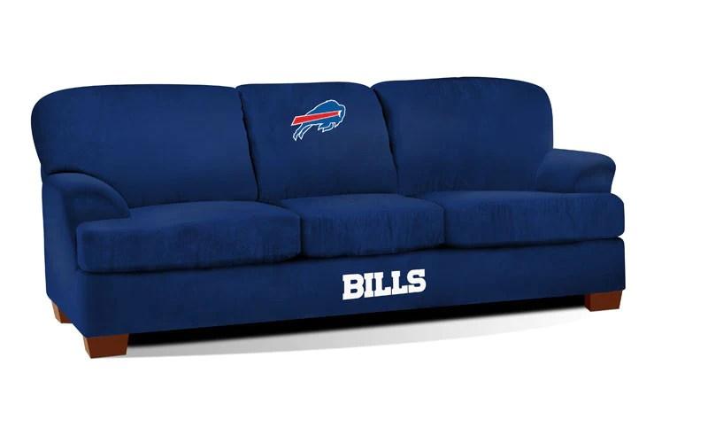 microfiber sofas sofa chaise longue cama arcon buffalo bills first team imp 105 1021 man cave authority