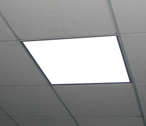 Luminario LED Tipo Panel de 40 watts Marca Ilumileds  Iluminatuespaciocom