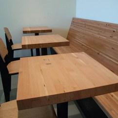 Cherry Wood Kitchen Table Blum Bins Reclaimed Douglas Fir Side Grain – Windfall Lumber