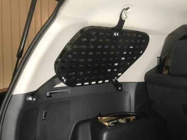 5th gen Toyota 4runner Hatch Window Molle Panels  PP