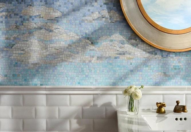 subtle seaside style tile inspiration