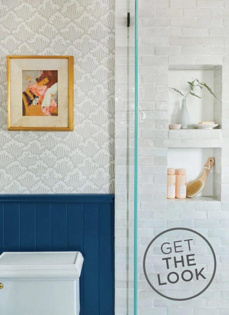 rethinking the square shower niche
