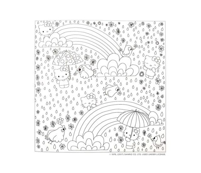 Hello Kitty & Friends Coloring Book - Sanrio