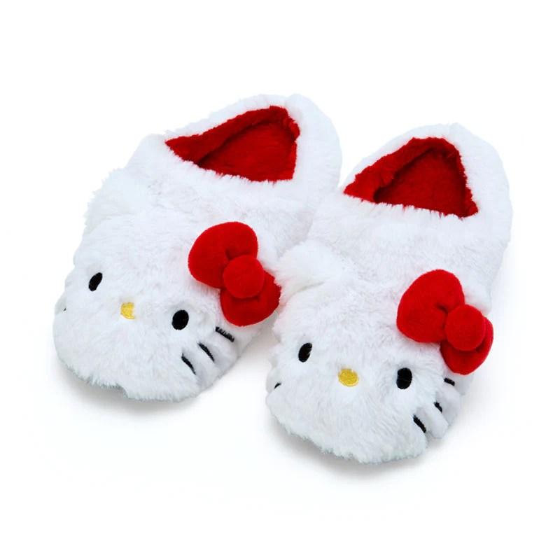 Las mejores ofertas para disney. Hello Kitty Plush Room Slippers Sanrio