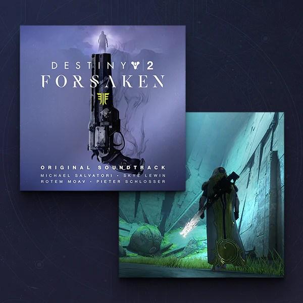 Bungie Rewards - Destiny 2: Forsaken Original Soundtrack + Whisper of the Worm Bonus Tracks