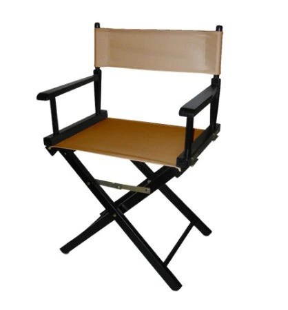 customized directors chair black flat bungee office custom personalized director s matworks ltd premium standard size