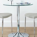 Round Glass 2 Seater Dining Table From Danetti