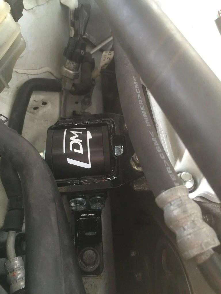 medium resolution of mazdaspeed3 passenger side motor mount