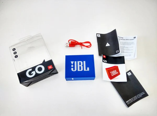 JBL Go Box Contents