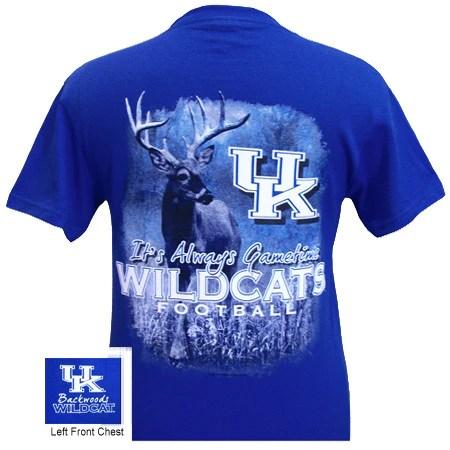 UK Kentucky Wildcats Gametime Deer Unisex Bright T Shirt