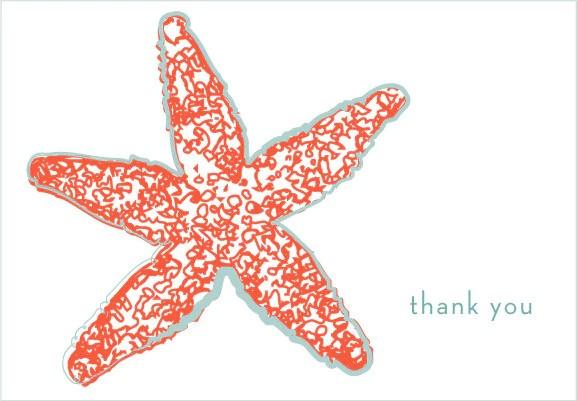 starfish thank you