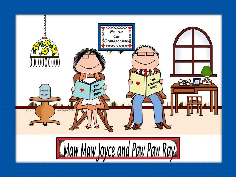 grandparents gifts personalized grandparent