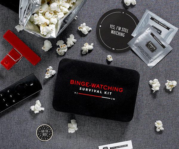 BingeWatching Survival Kit  Pinch Provisions