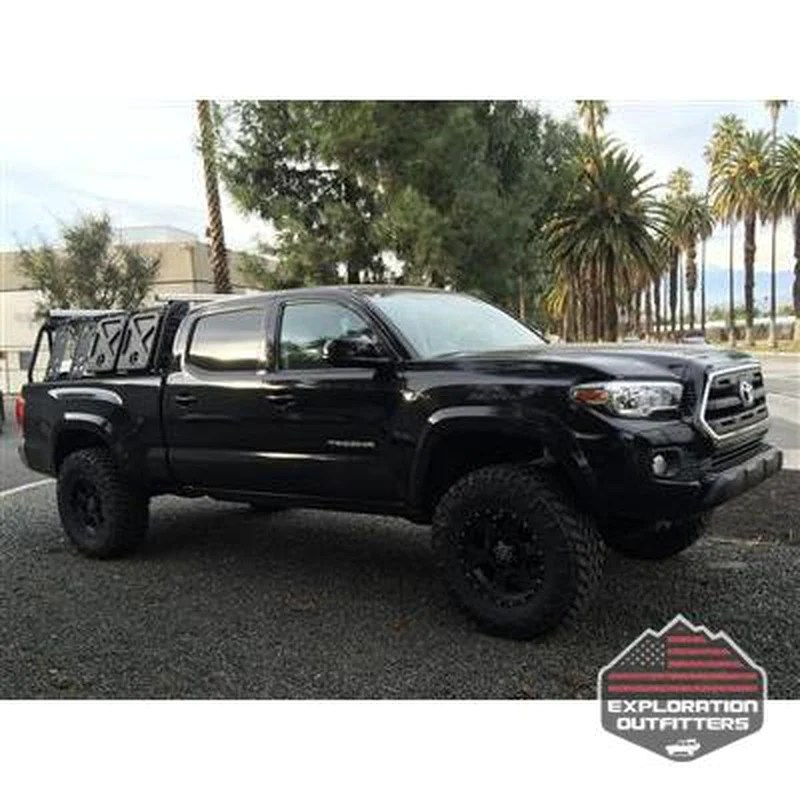 acs classic bed rack system 16 toyota tacoma long bed by leitner designs