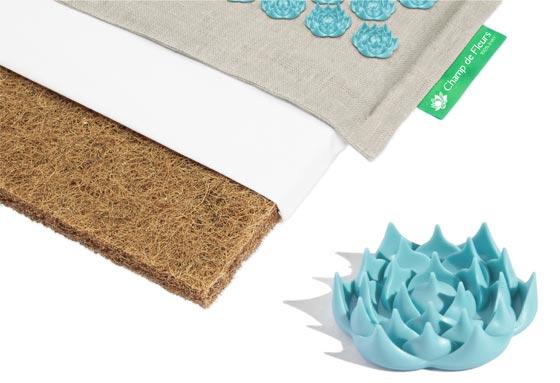tapis champ de fleurs tapis fleur de