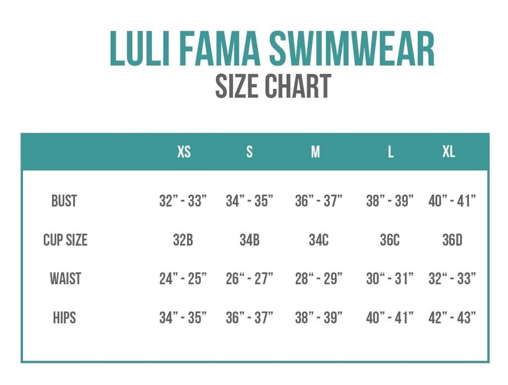 Luli fama swimwear sizing chart also size charts bikini information and helpful guide rh bikiniluxe