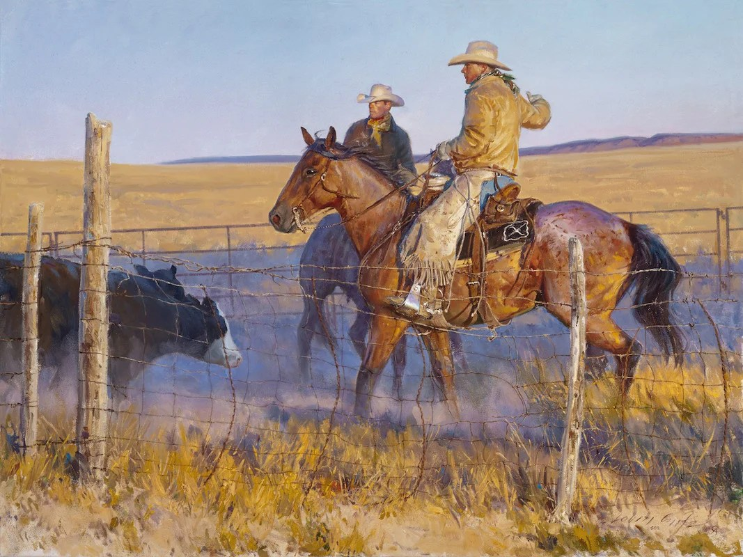 Western Art Cowboy Artist Loren Entz Originals & Prints