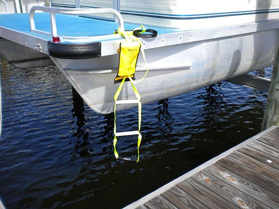 Rescue Steps for boats  Permanent or Emergency ladder