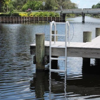 CM Marine  7 Step Standard Lift Dock Ladder  Marine